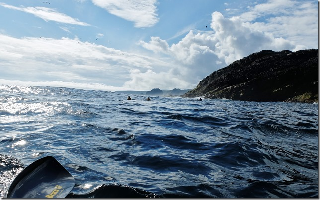 Kayaking Shetland, epic adventure Out Stack Muckle Flugga