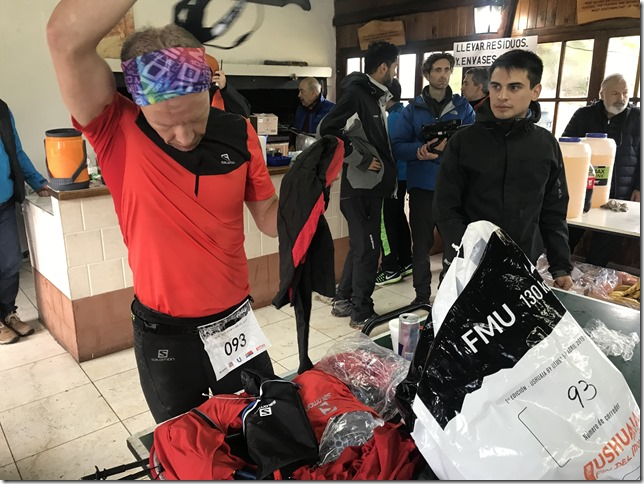 Ushuaia by UTMB mandatory equipment check
